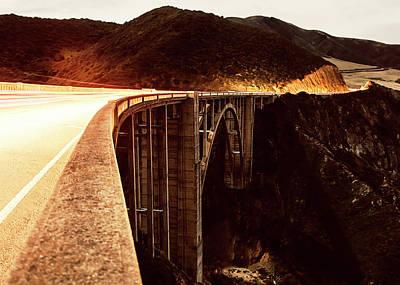 Bixby Creek Bridge, California Art Print