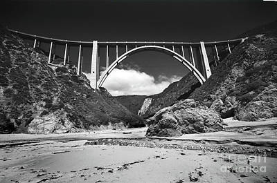Photograph - Bixby Creek Bridge For Bixby Beach by California Views Mr Pat Hathaway Archives