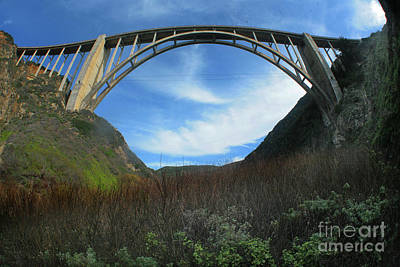 Photograph - Bixby Creek Bridge Big Sur From Bixby Canyon 2015 by California Views Mr Pat Hathaway Archives
