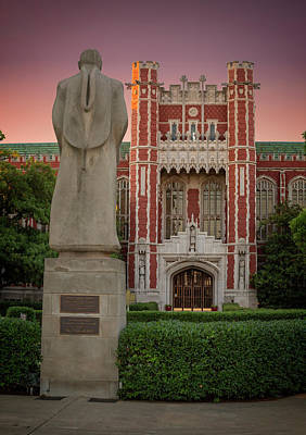 Photograph - Bizzell Library by Ricky Barnard