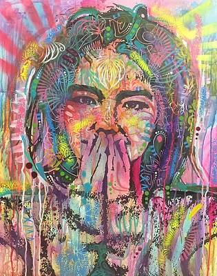 Mixed Media - Bjork by Dean Russo