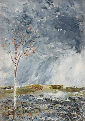August Strindberg Painting - Bjorken I by August Strindberg