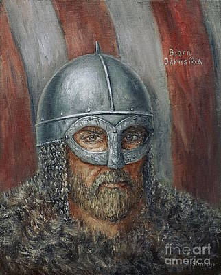 Painting - Bjorn Ironside by Arturas Slapsys