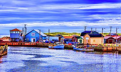 Photograph - Bkue Cove by Rick Bragan
