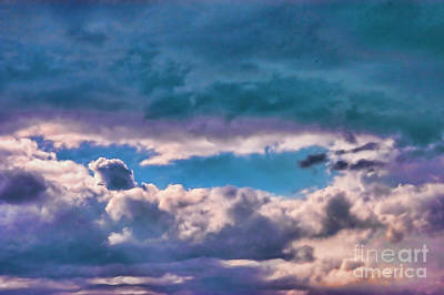 Photograph - Bkue Hole In Sky by Rick Bragan