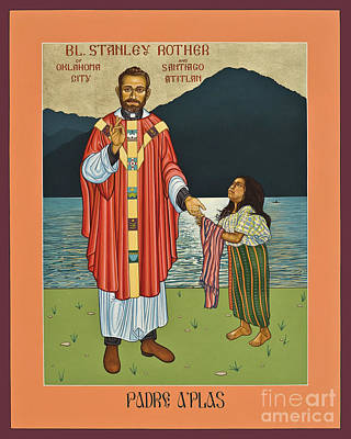 Bl. Stanley Rother - Lwsro Art Print