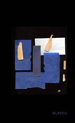 Digital Art - Black And Blue by Doug Duffey