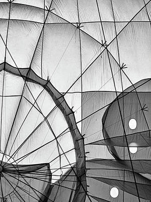 Photograph - Black And White Abstract by Dawn Currie