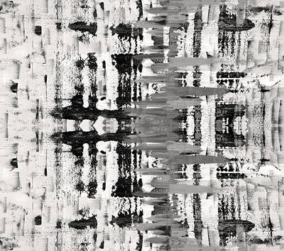 Photograph - Black And White Abstract by Sumit Mehndiratta