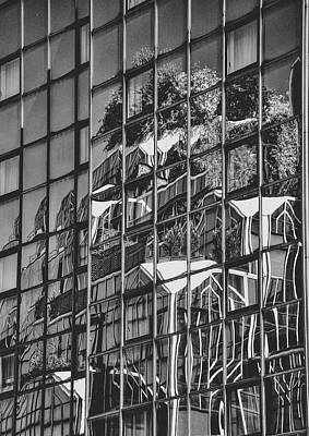Photograph - Black And White Architecture Art by Sheila Mcdonald