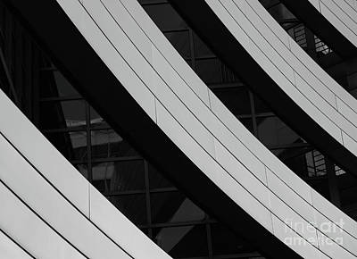 Photograph - Black And White Architecture by Giovanni Malfitano