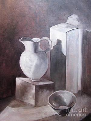 Painting - Black And White  by Barbara Haviland