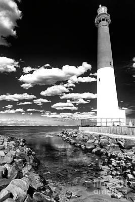 Photograph - Black And White Barnie by John Rizzuto