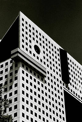 Photograph - Black And White Building by Shaun Higson