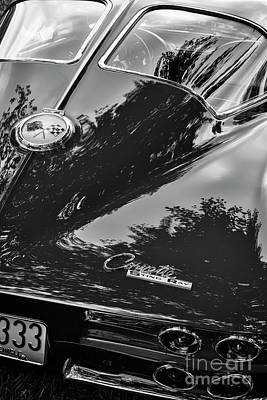 Photograph - Black And White C2 by Dennis Hedberg