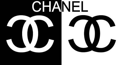 Black And White Chanel 2 Art Print