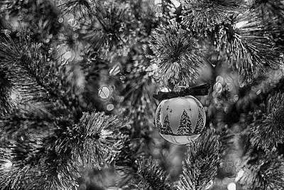 Photograph - Black And White Christmas by Amber Kresge