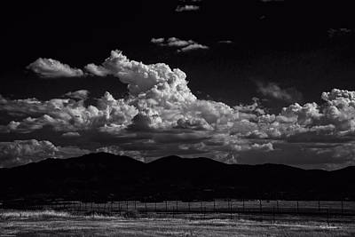 Photograph - Black And White Cloud Fantasy by Mick Anderson