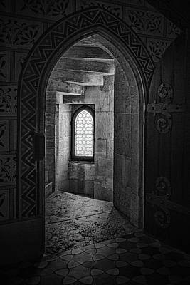 Photograph - Black And White Enlightened Entry by Sharon Popek
