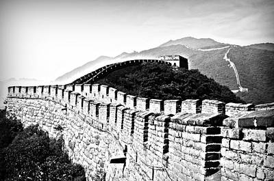 Black And White Great Wall Art Print by Alessandro Giorgi Art Photography