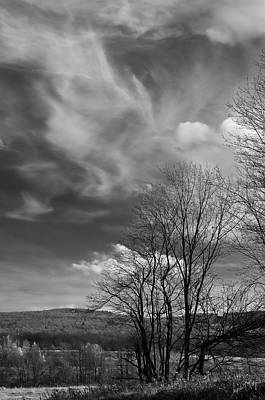 Linda King Photograph - Black And White Landscape 5283 by Linda King