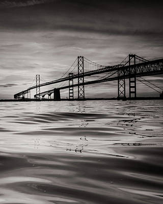Photograph - Black And White Reflections 2 by Jennifer Casey