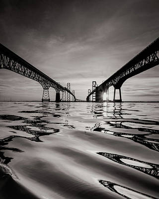 Photograph - Black And White Reflections by Jennifer Casey