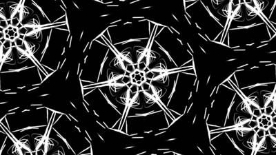 Digital Art - Black And White by Riana Van Staden