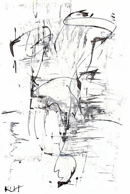Painting - Black And White Series 651.102410789.113011 by Kris Haas
