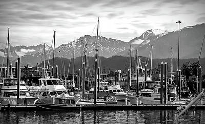 Photograph - Black And White Seward Alaska 2 by Aimee L Maher ALM GALLERY