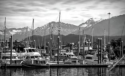 Photograph - Black And White Seward Alaska 2 by Aimee L Maher Photography and Art Visit ALMGallerydotcom