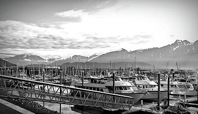 Photograph - Black And White Seward Alaska by Aimee L Maher ALM GALLERY