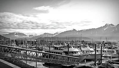 Photograph - Black And White Seward Alaska by Aimee L Maher Photography and Art Visit ALMGallerydotcom