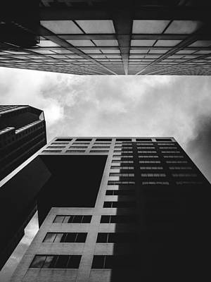 Photograph - Black And White St. Louis Architecture by Dylan Murphy