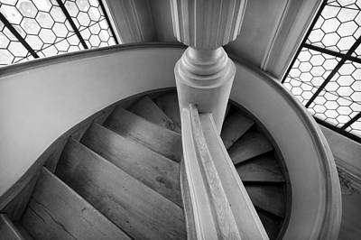 Photograph - Black And White Stairs by Jenny Setchell