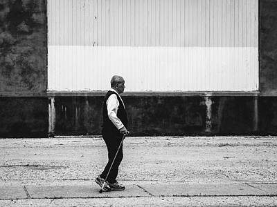 Photograph - Black And White Street Photography by Dylan Murphy