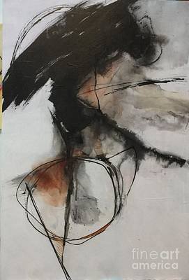 Painting - Black And White Study by Elaine Callahan