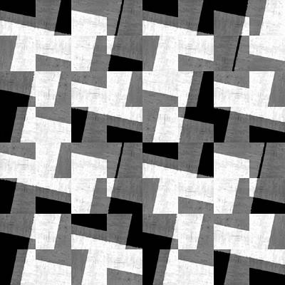 Digital Art - Black And White Study by Michelle Calkins