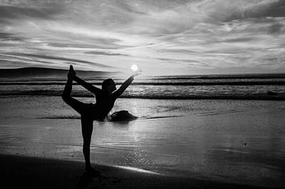 Shadow Dancer Photograph - Black And White Summer by Sierra Vance