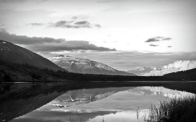 Photograph - Black And White Summit Lake Alaska by Aimee L Maher ALM GALLERY