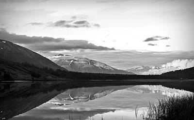 Photograph - Black And White Summit Lake Alaska by Aimee L Maher Photography and Art Visit ALMGallerydotcom