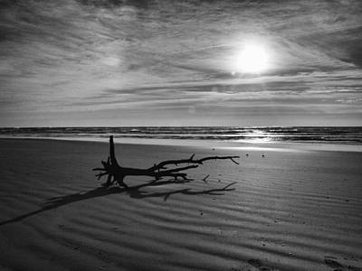 Photograph - Black And White Sunrise by Charles McKelroy
