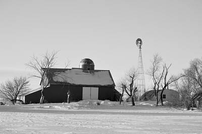 Photograph - Black And White Winter by Bonfire Photography