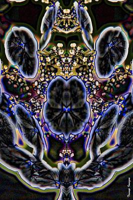 Digital Art - Black Angel by Wesley Nesbitt