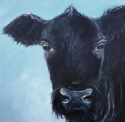 Black Angus Aggie Art Print