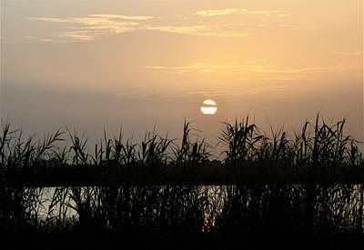 Photograph - Black Bayou Sunset by John Glass