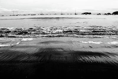 Photograph - Black Beach  by D Justin Johns