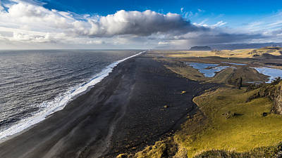 Photograph - Black Beach by James Billings