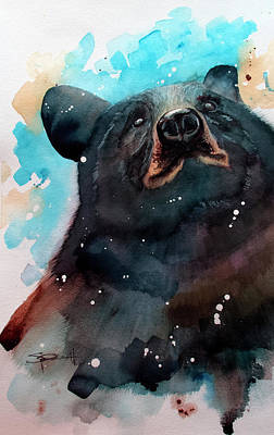 Painting - Black Bear by Sean Parnell