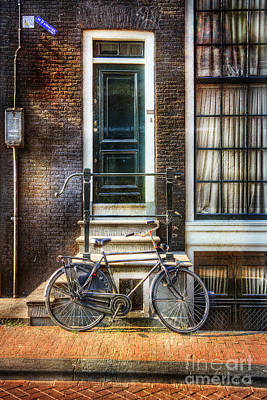 Photograph - Black Beauty Bicycle by Craig J Satterlee